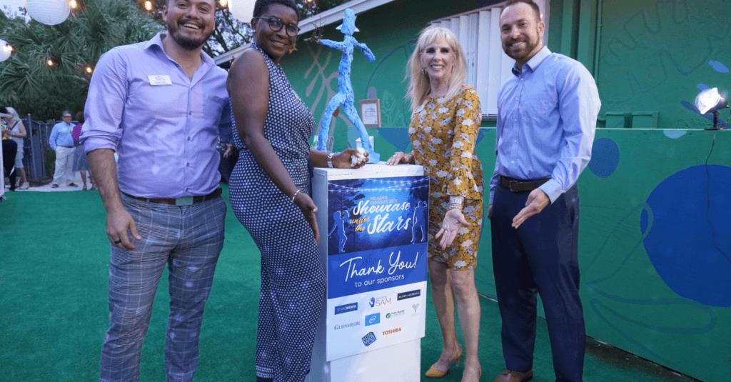 Doctor Sam sponsors Milagro Center – Showcase under the Stars